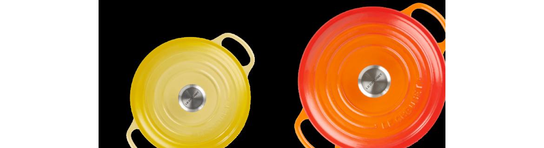 Découvre les Cocottes Le Creuset et les casseroles Cristel dans les outils de cuisine d'Hervé à la cuisine au 20 sur Lourmarin en Vaucluse